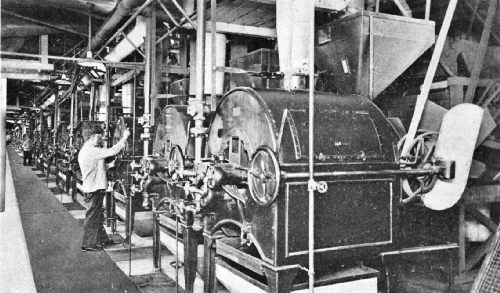 An Eight-Cylinder Gas Coffee-Roasting Plant