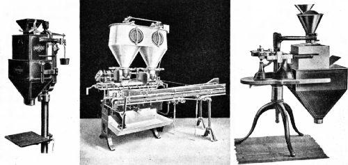 Three Types of Automatic Coffee-Weighing Machines