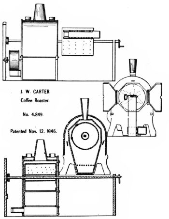 Carter's Pull-Out Roaster Patent