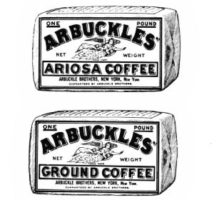 The Original Arbuckle Coffee Packages