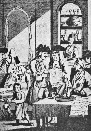 Coffee House Politicians of the Seventeenth Century
