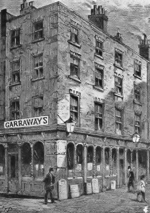 Garraway's Coffee House in 'Change Alley